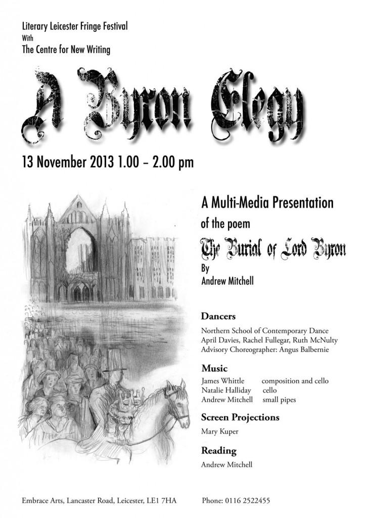A Byron Elegy - Poster